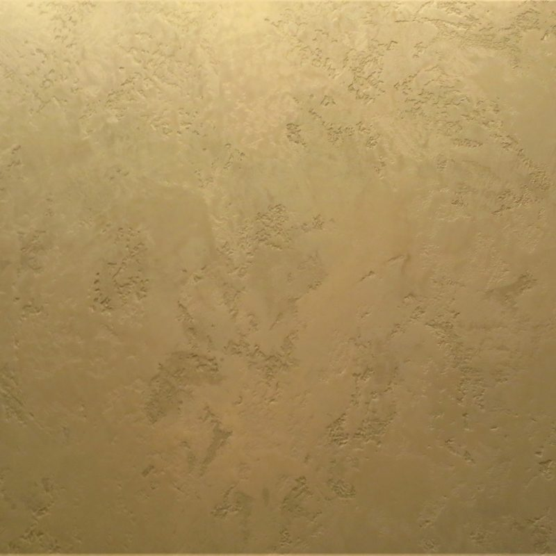 Decorative plaster travertine + marmorin of a milky shade